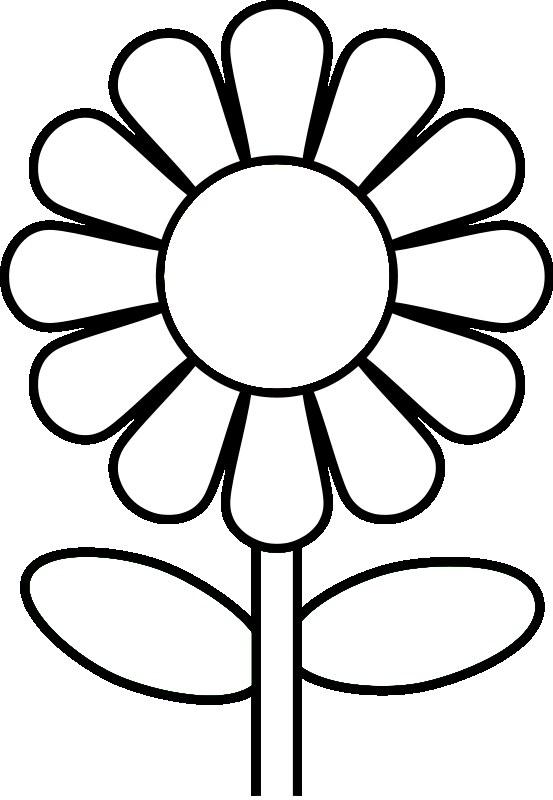 Clipart Flower Coloring Clipart Flower Coloring Transparent Free For Download On Webstockreview 2020