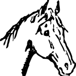 Clipart Horse Black And White Clipart Horse Black And White Transparent Free For Download On Webstockreview 2020