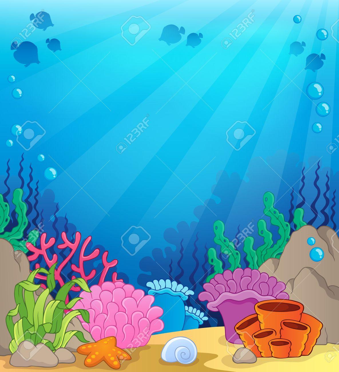 Coral Clipart Sea Habitat Coral Sea Habitat Transparent