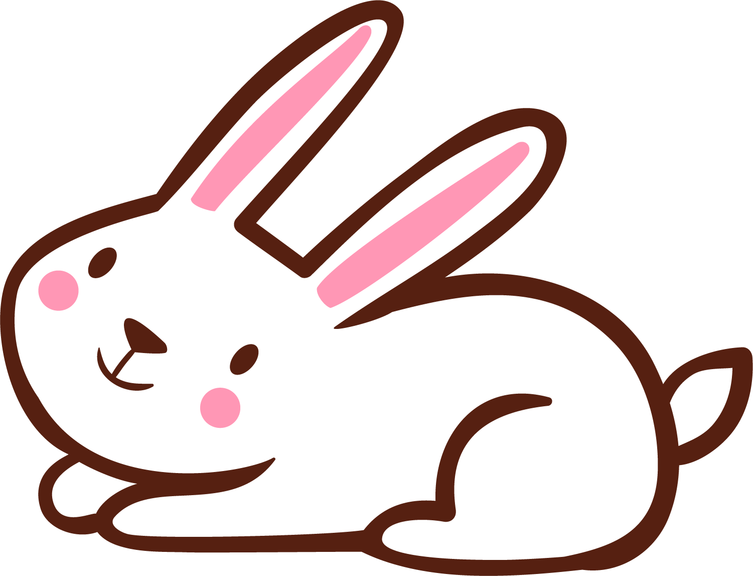 Clipart Rabbit Line Art Clipart Rabbit Line Art