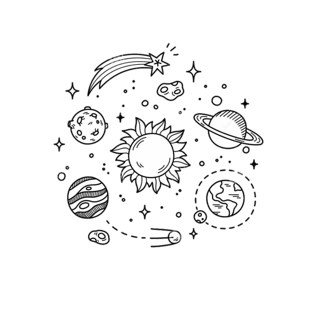 Planets Clipart Star Planets Star Transparent Free For