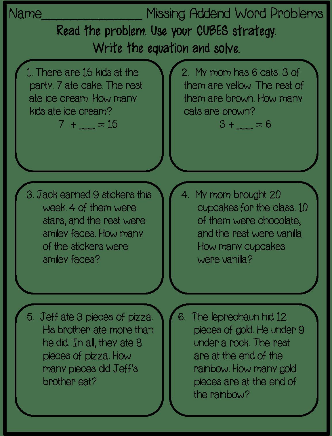 Clipart Word Math Worksheet Clipart Word Math
