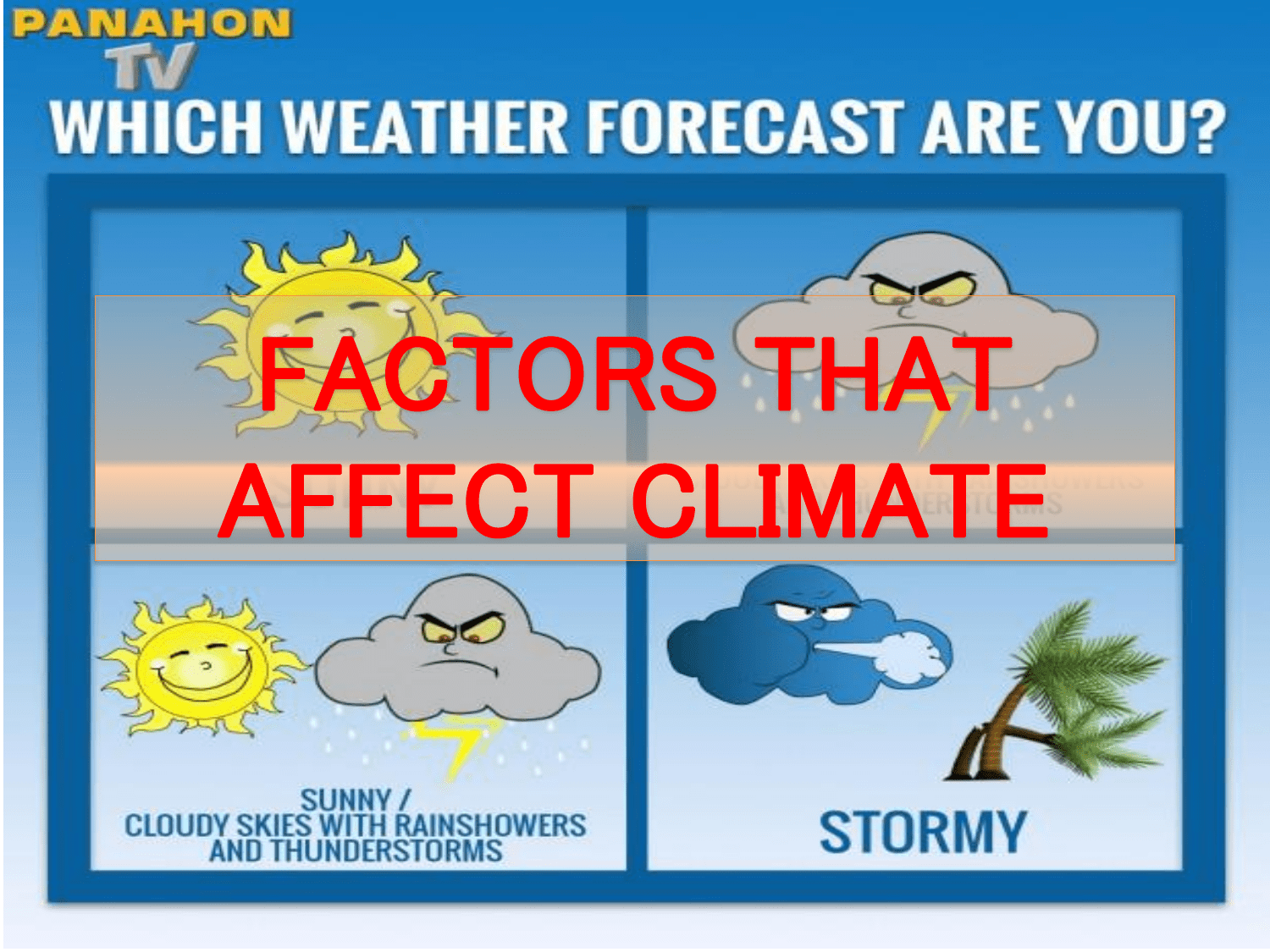 Cloudy Clipart Moderate Climate Cloudy Moderate Climate