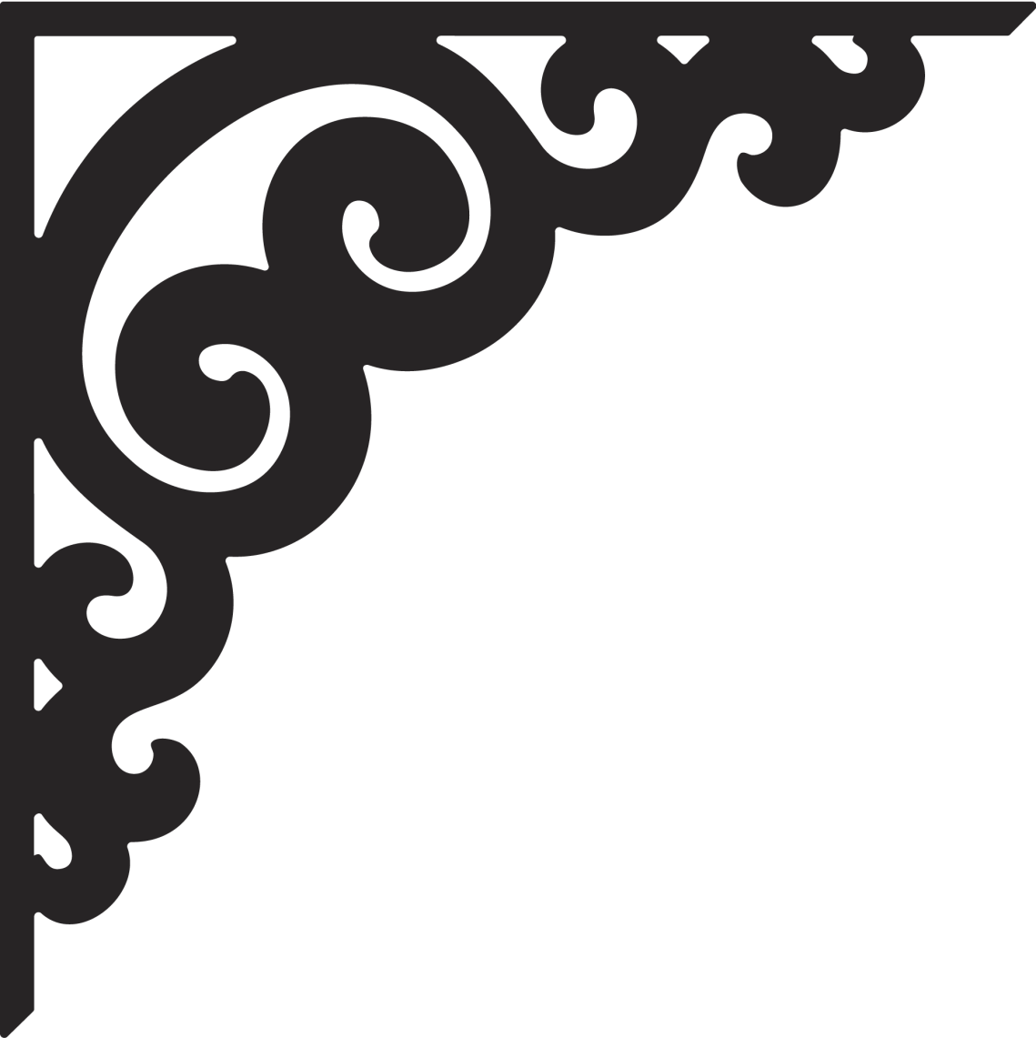 Download Corner clipart stencil, Corner stencil Transparent FREE ...
