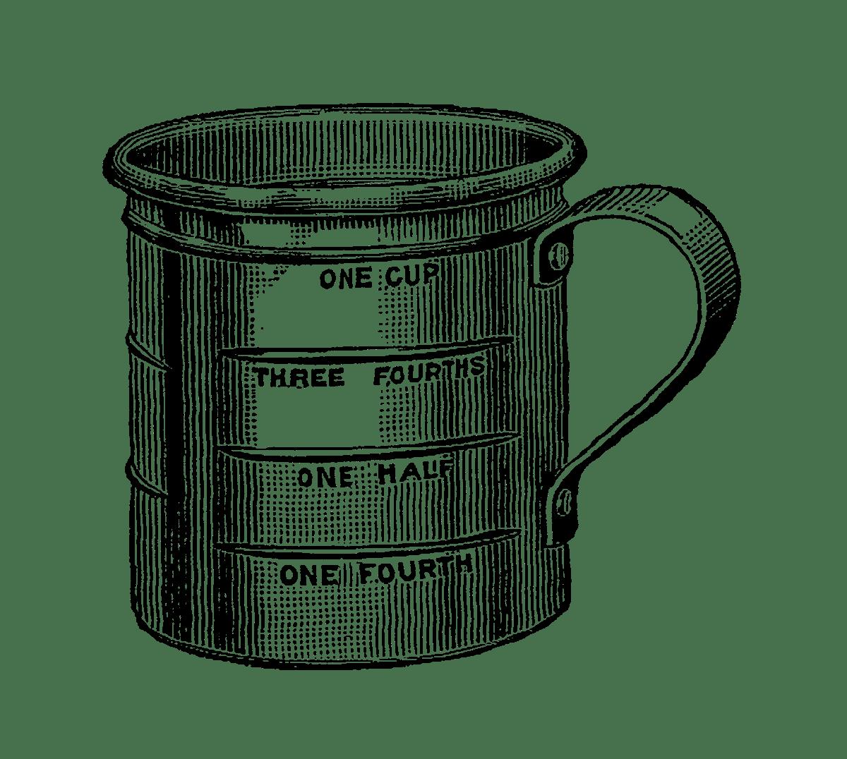 Cup Clipart Measurement Cup Measurement Transparent Free