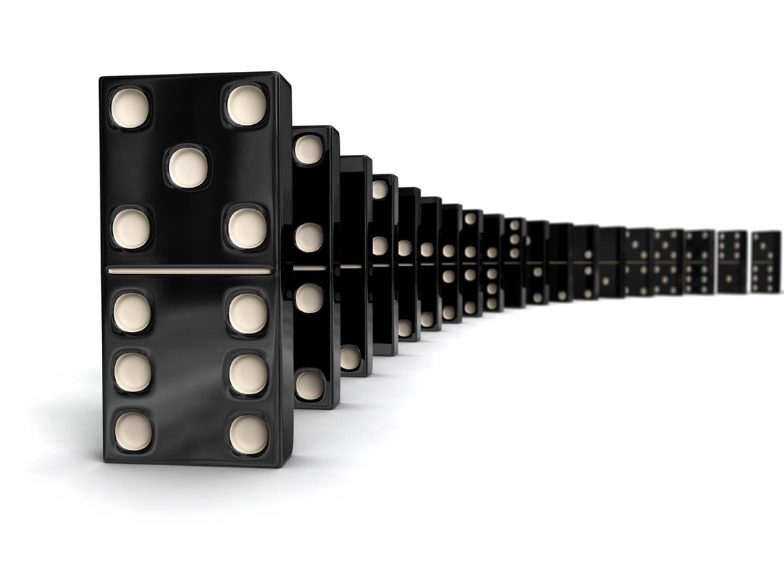 Domino Clipart Law First Newton S Motion Domino Law First