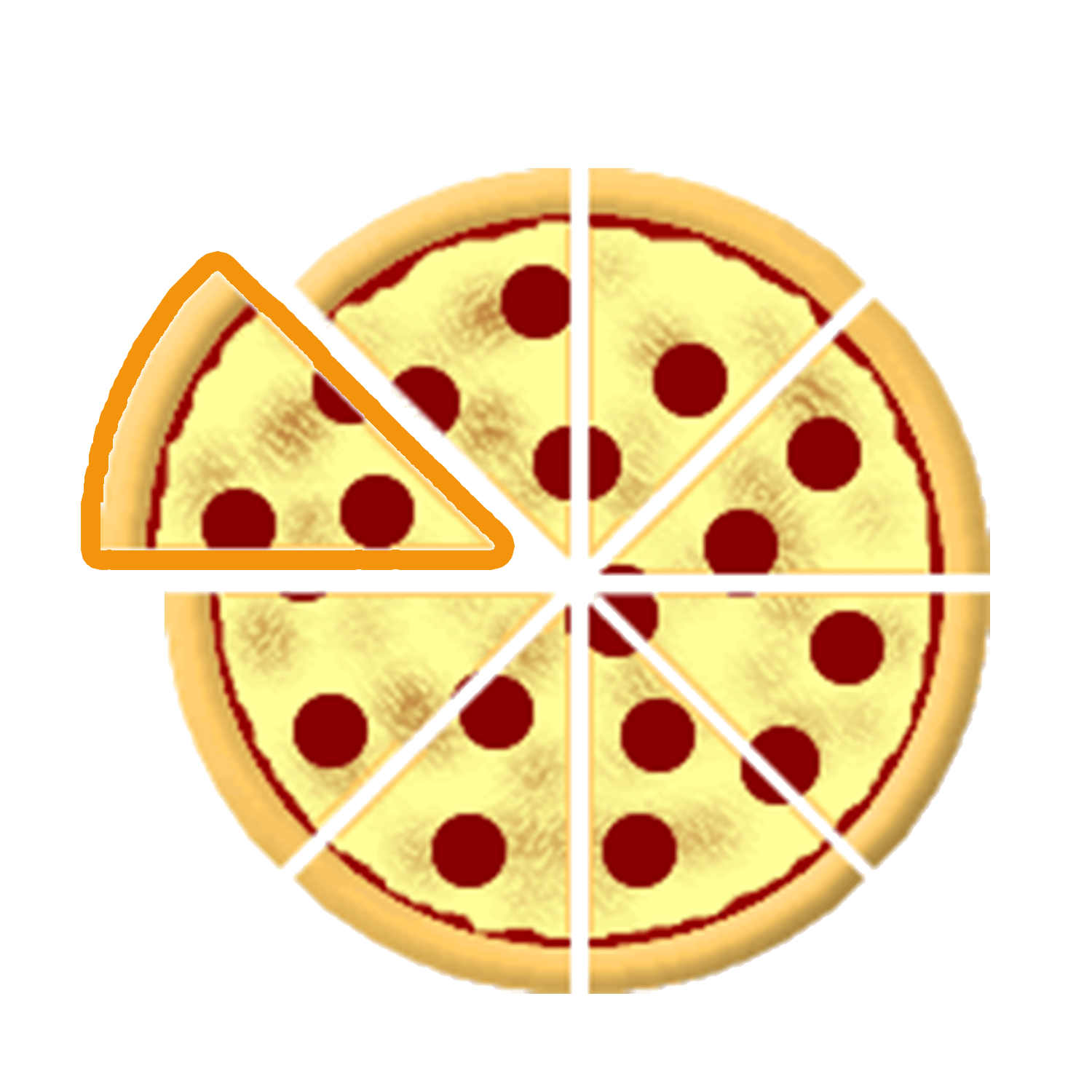 Pizza Clipart Pizza Fraction Pizza Pizza Fraction