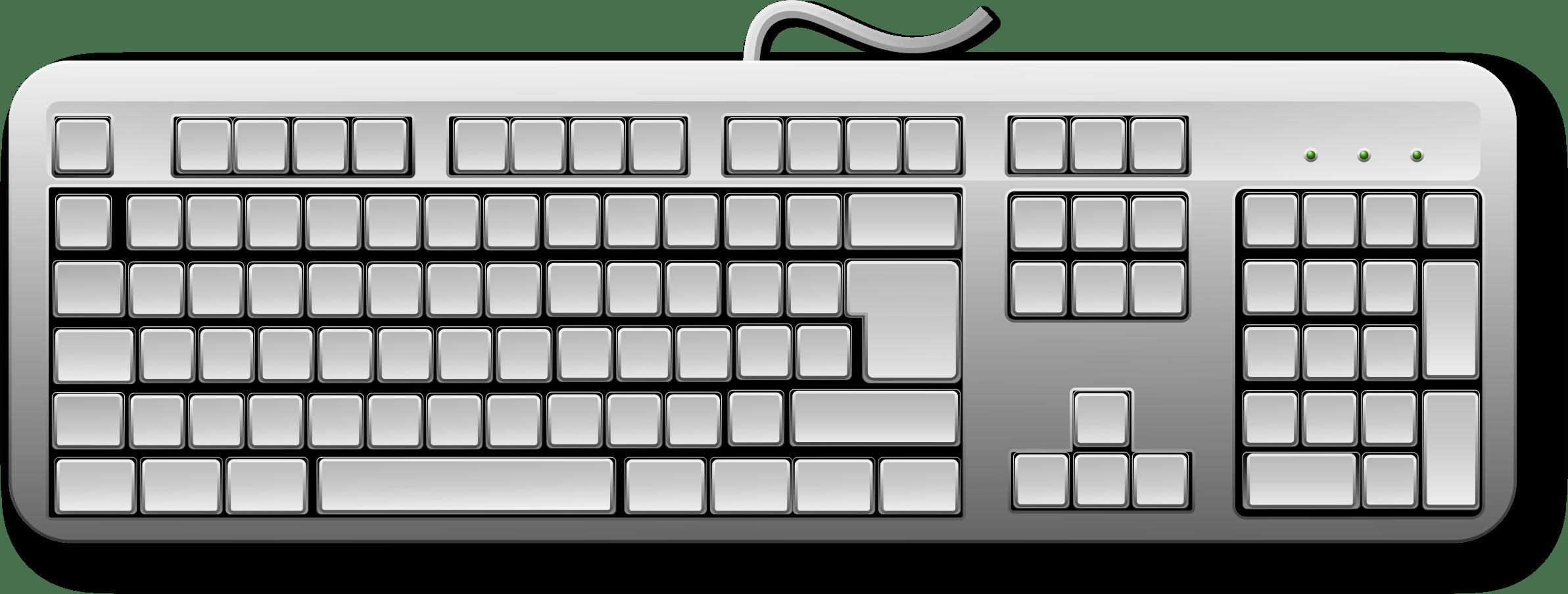 Keyboard Clipart Print Keyboard Print Transparent Free