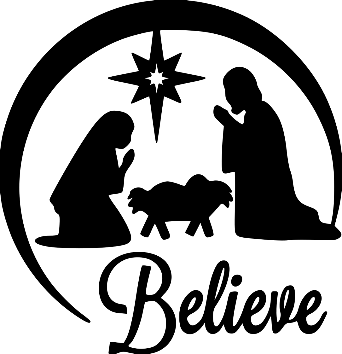 Download Nativity clipart svg free, Nativity svg free Transparent ...