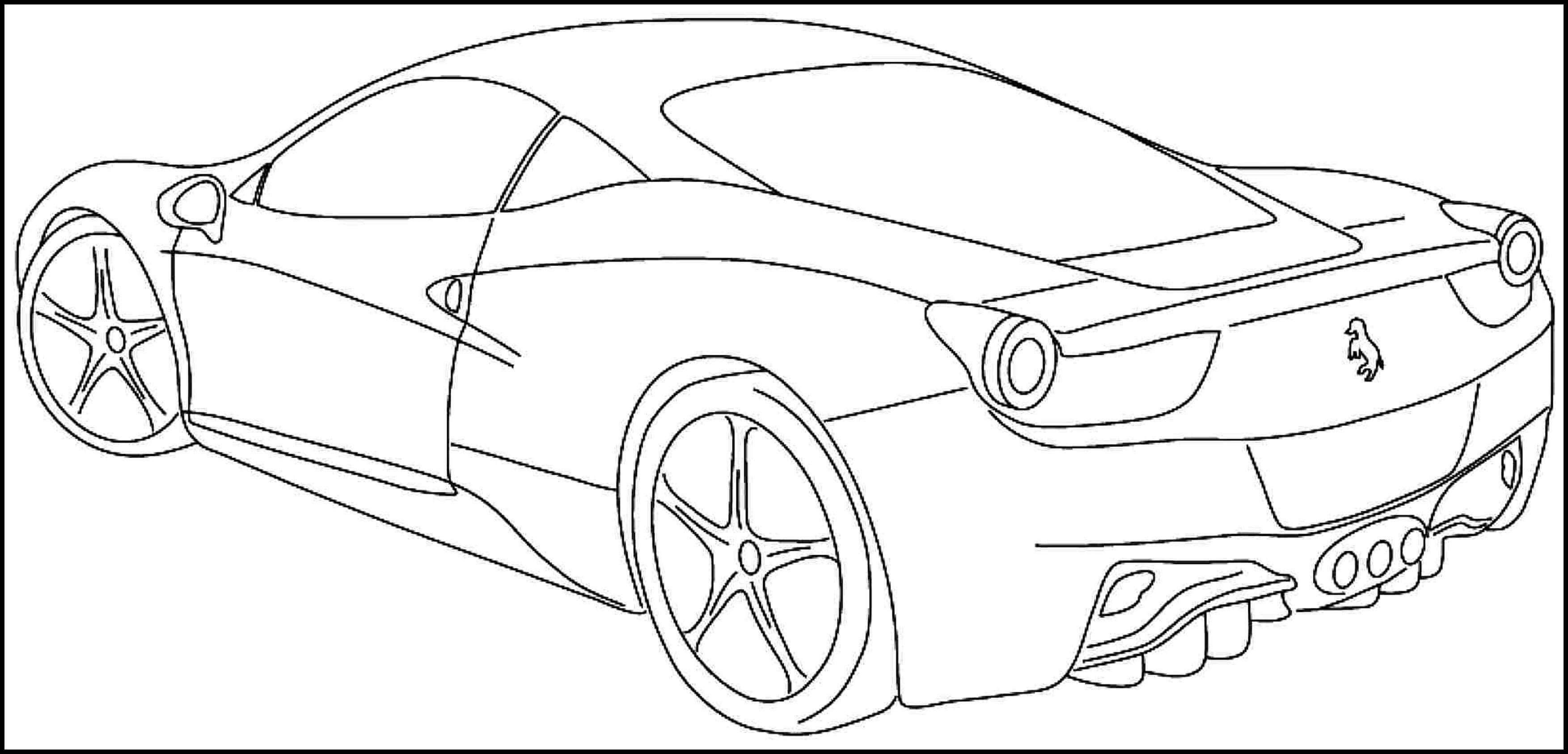 Nascar Clipart Sports Car Outline Nascar Sports Car
