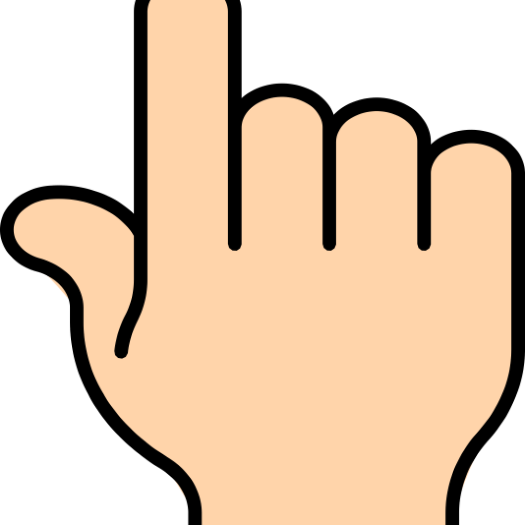 Pointing Clipart Main Point Pointing Main Point