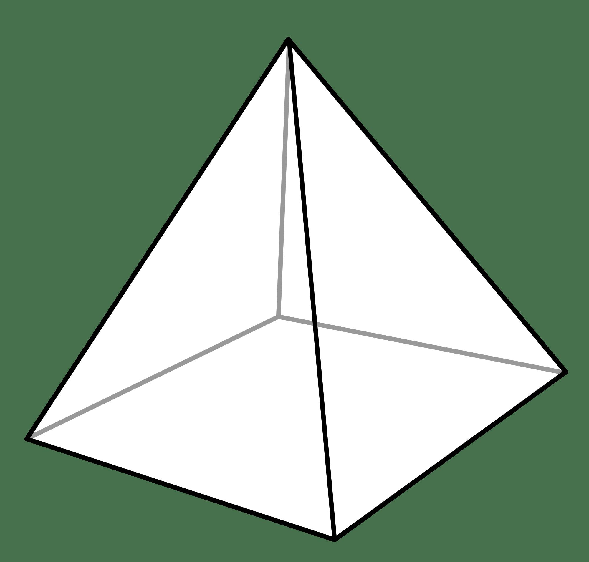 Cone Clipart 3d Pyramid Cone 3d Pyramid Transparent Free