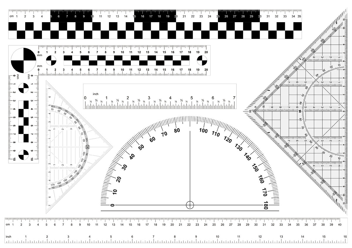 Ruler Clipart Printable Ruler Printable Transparent Free