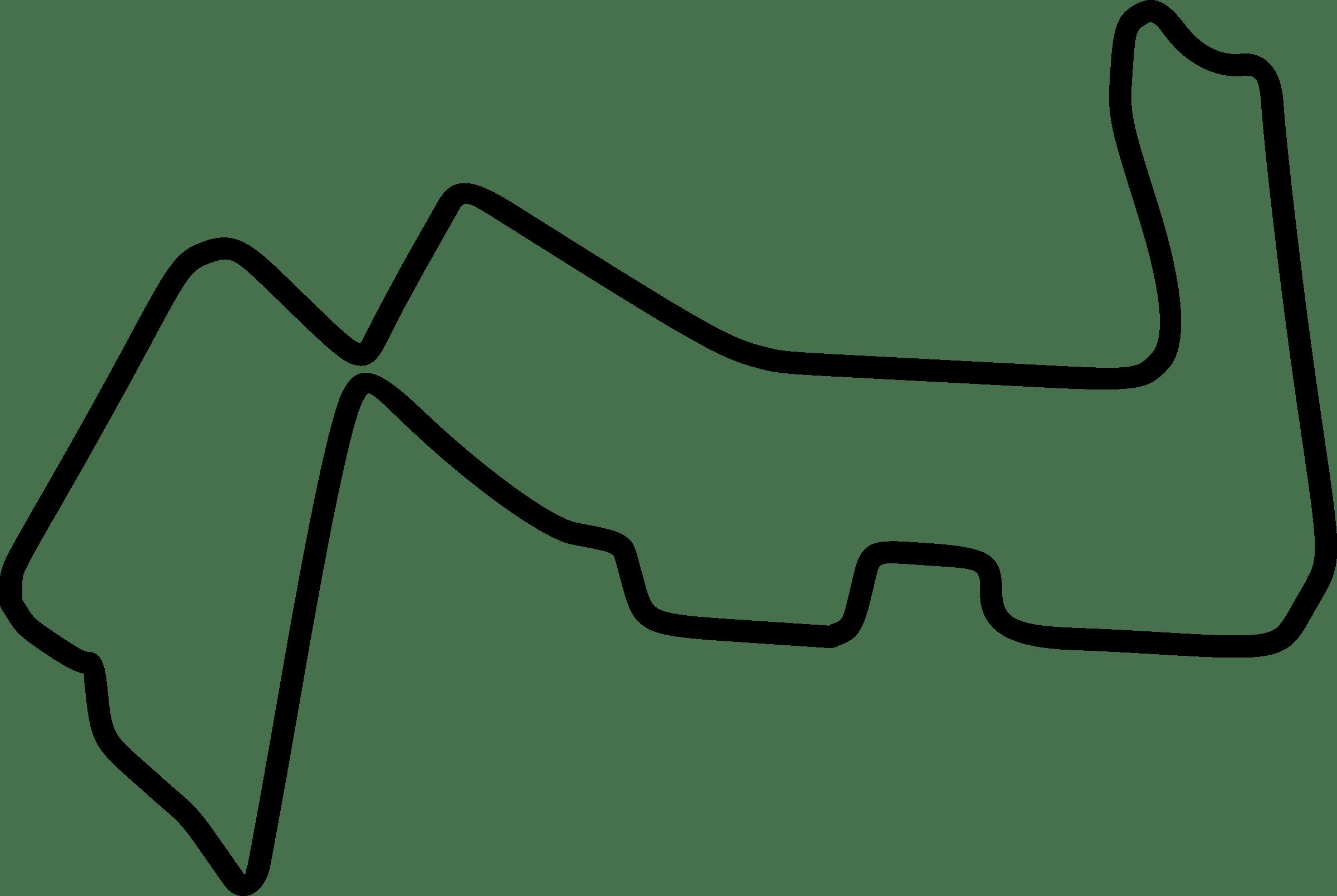 Track Clipart Outline Track Outline Transparent Free For