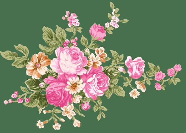 Vintage flower png, Vintage flower png Transparent FREE ...