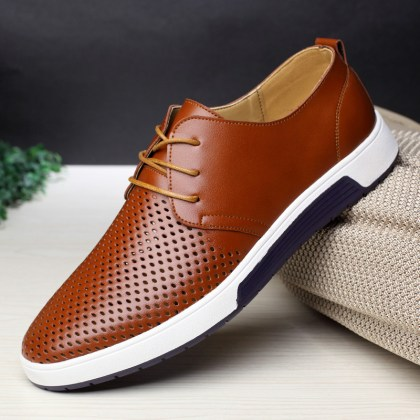 Elegant Summer Breathable Men's Shoes