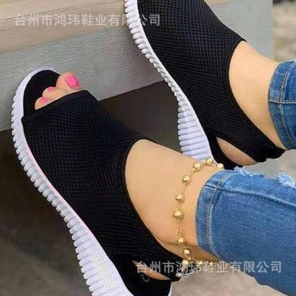 Classy Open Toe Female Sandal