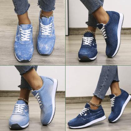 Smart Jean Laced Sneakers