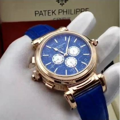 Double-sided Patek Philippe Luxury Leather Watch