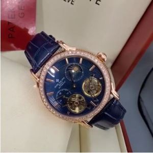 Patek Philippe Leather Wristwatch