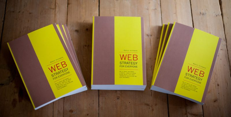 Web Strategy for Everyone in print