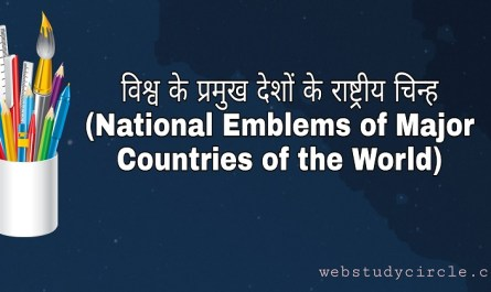 National Emblems of Major Countries of the World