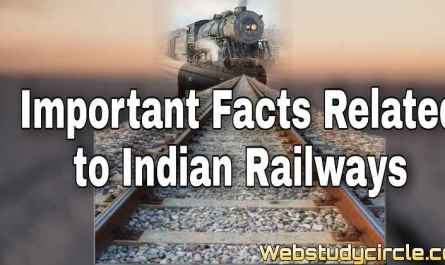 Important facts related to Indian Railways