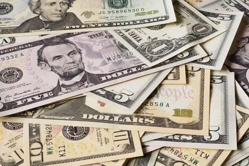 Dollar symbol currency