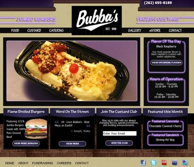 Bubbas Frozen Custard
