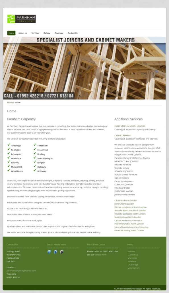 Parnham Carpentry - North London