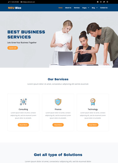 Whether you are bringing into being a fresh project or redesigning your current website, these templates have you. Best Corporate Business Website Templates Free Download 2020