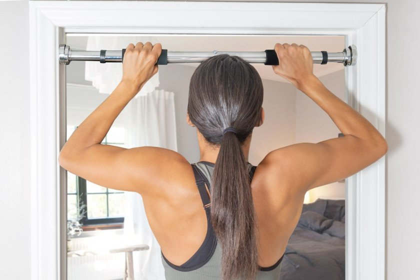 At-Home Workout Wheel Barrel Exercise