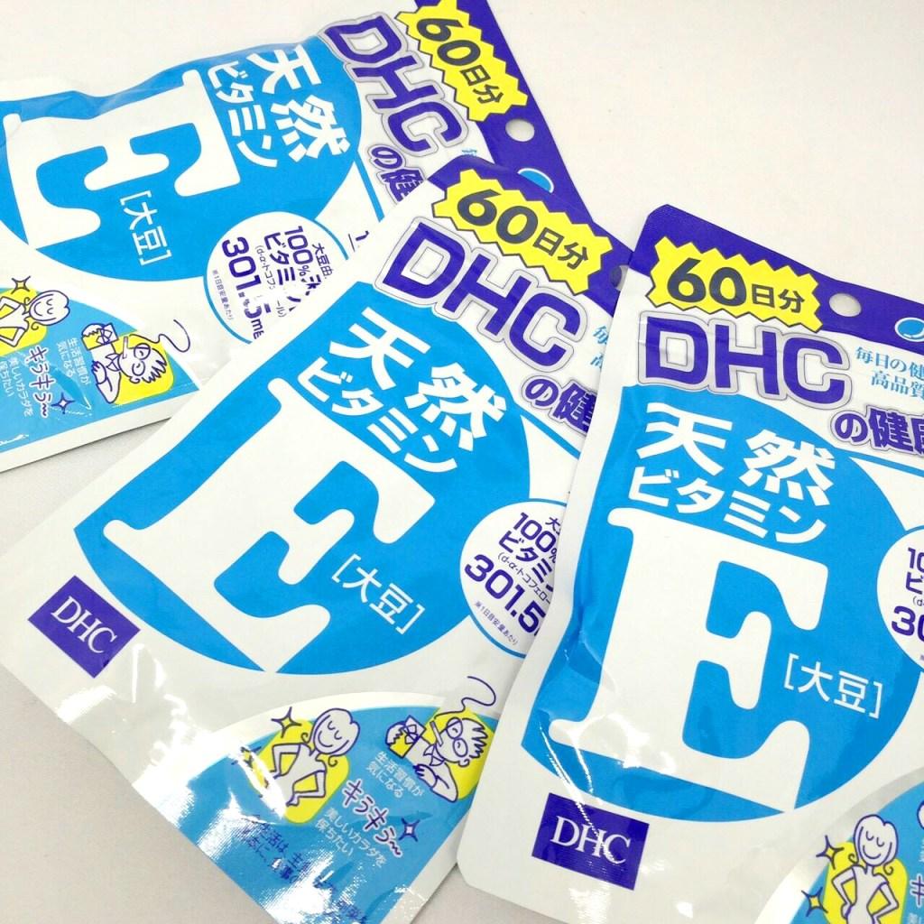 3 gói viên uống DHC E loại sử dụng 60 ngày