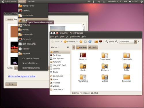 New ubuntu theme