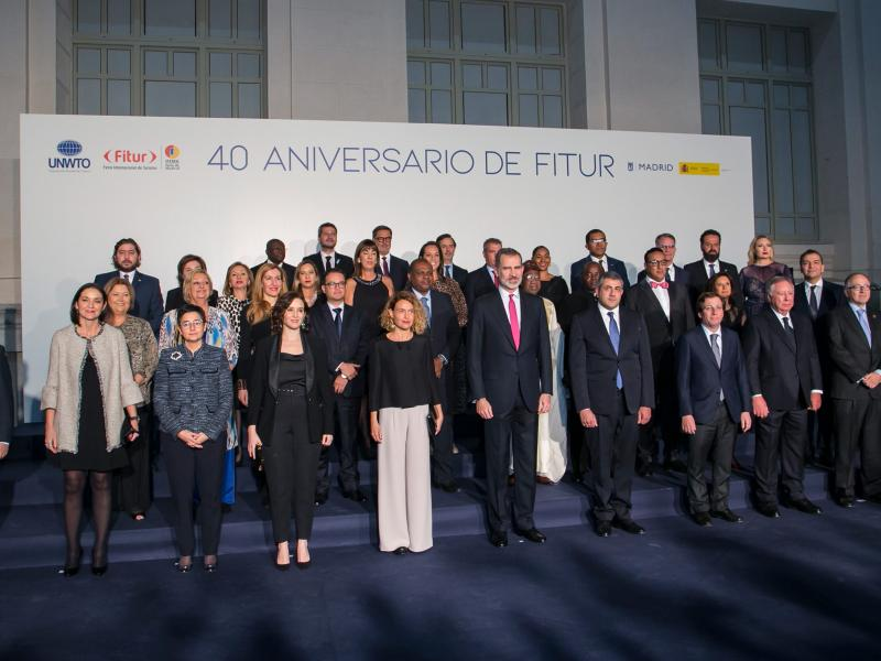 40 Years of Fitur Gala Dinner VIP photo