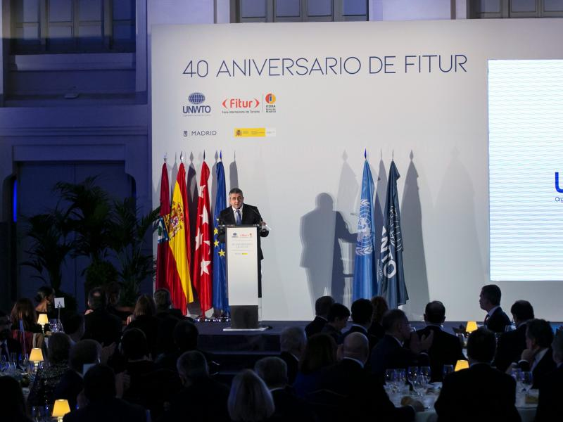 FITUR Gala Dinner opened by UNWTO Secretary-General
