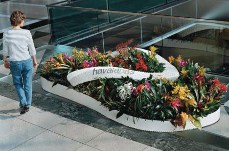 amazing guerrilla marketing flower shoe