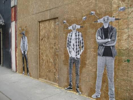 guerrilla art guerrilla marketing calgary