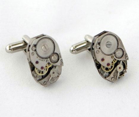 steampunk cufflinks