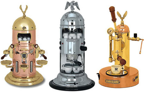 steampunk coffee machines