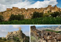 Deserted Walled Town Craco