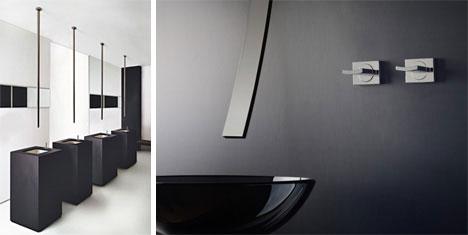Rettangolo Sinks and Graff Faucet