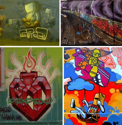 Graffiti Pieces