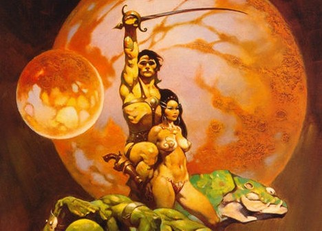 Frank Frazetta: Retro Fantasy Art Bridges Past & Future ...