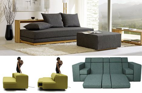 beyond sofa beds: 7 creative new kinds of sleeper couch VP8NWHE0