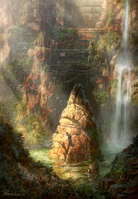 Imaginary Landscapes Fantasy Island Lee