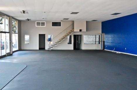abandoned Ford dealer's showroom South San Francisco
