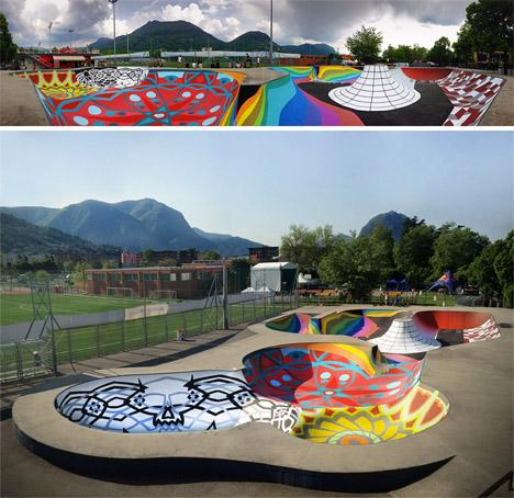 SKatepark Graffiti 4