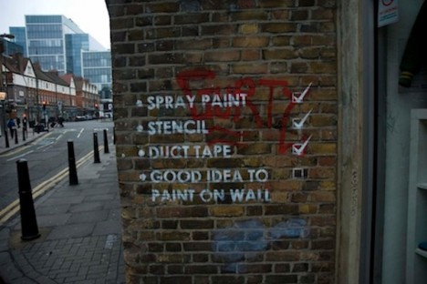 mobster street art checklist