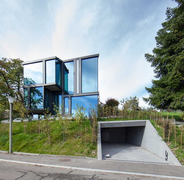 Don't Throw Stones: Modern Glass House is Super Sharp ... on Modern Glass Houses  id=12664